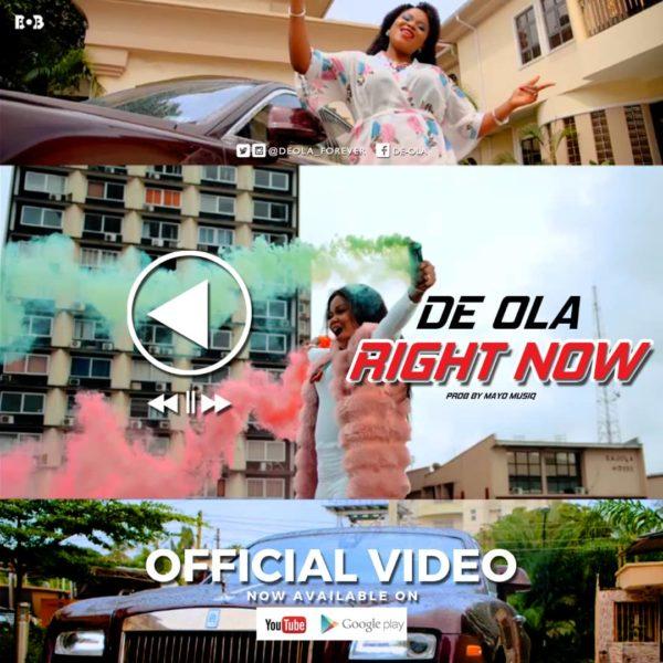 [Video] De-Ola - Right Now