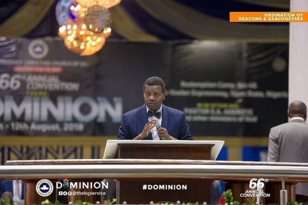 Welcome Message By Pastor E.A. Adeboye