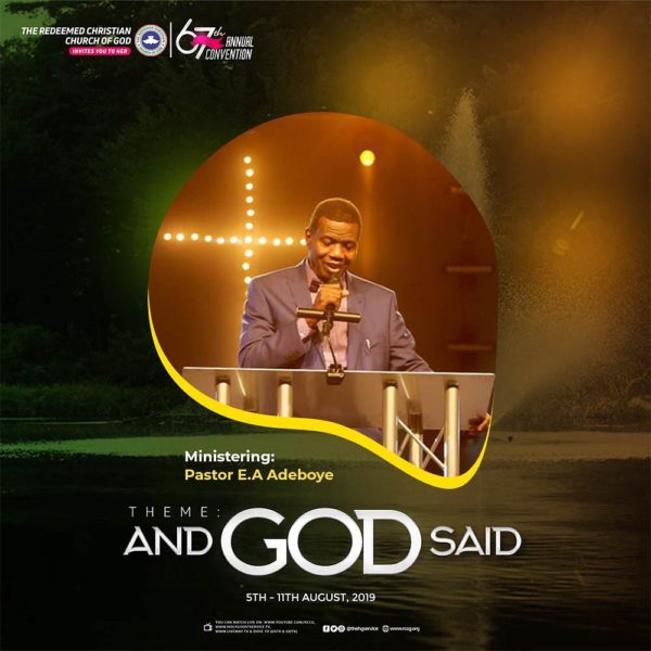 Special Hymn – RCCG 67th Annual Convention 2019