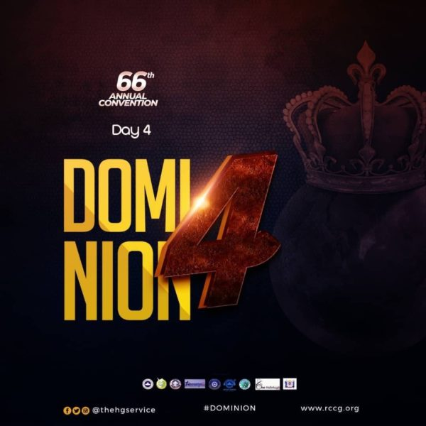 RCCG 66th Annual Convention 2018 [Day 4]